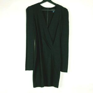 FRENCH CONNECTION Long Sleeve Black Dress Sz0